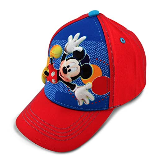 9e5a54a38deabe Image Unavailable. Image not available for. Color: Disney Toddler Boys  Mickey Mouse Character 3D Pop Baseball Cap ...