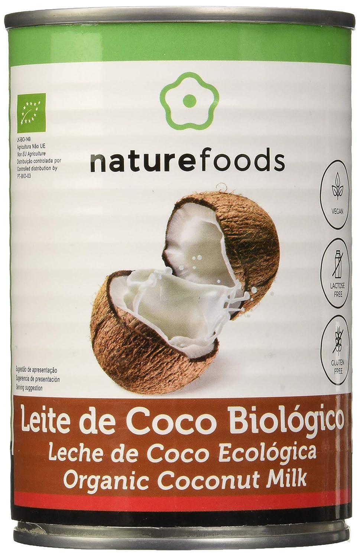 Leche de coco biologica