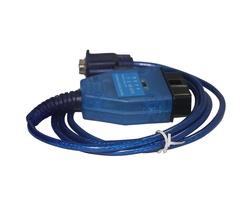KKL COM 409 + Fiat ECU Scan OBD Cable de diagnóstico para Audi/Seat/VW coches: Amazon.es: Coche y moto