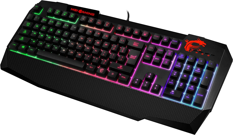 MSI Vigor GK40 - Teclado Gaming - RGB [Layout IT]: Amazon.es ...