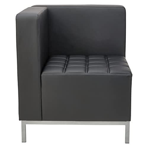 Alera ALE QUB Series Corner Sectional, 26 3 8 x 26 3 8 x 30 1 2, Black