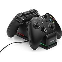 AmazonBasics - Estación de carga Dual para Xbox One