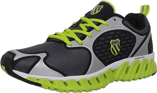 K-Swiss Blade-MAX Glide - Zapatillas de Correr de Material sintético Hombre: Amazon.es: Zapatos y complementos