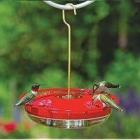 Aspects HummZinger HighView 12 Oz Hanging Hummingbird Feeder - 429, Red