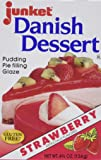 Junket Danish Dessert - Strawberry (4.75 ounce)