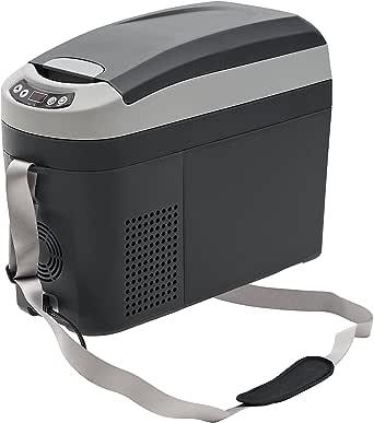 Indel B TB18A 2 Tone Gray Quart Travel Box Portable Refrigerator (1912vDC)