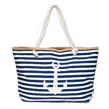 Kandharis Strandtasche Badetasche große Sommertasche