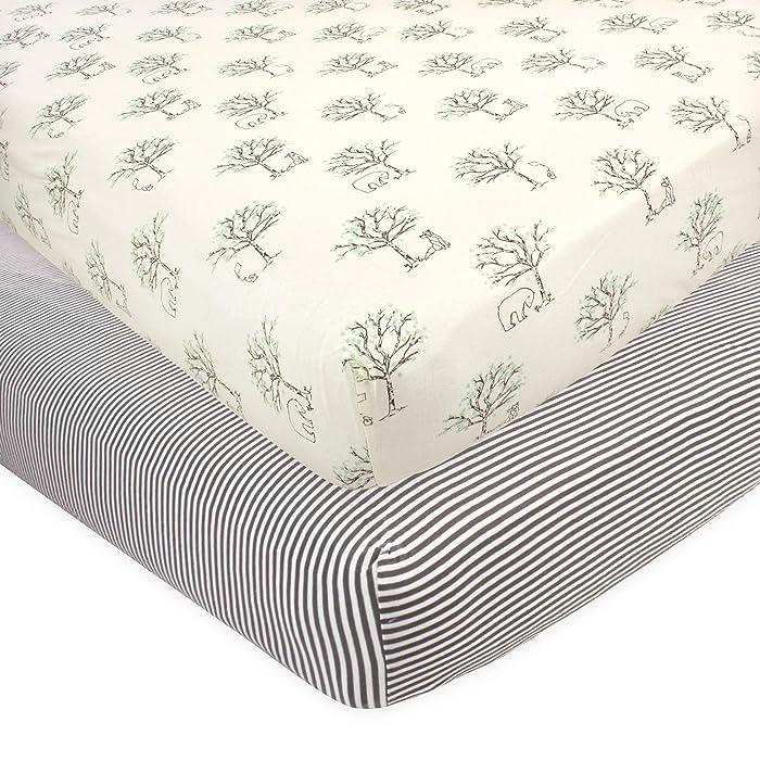 Top 10 Crib Sheets Nature