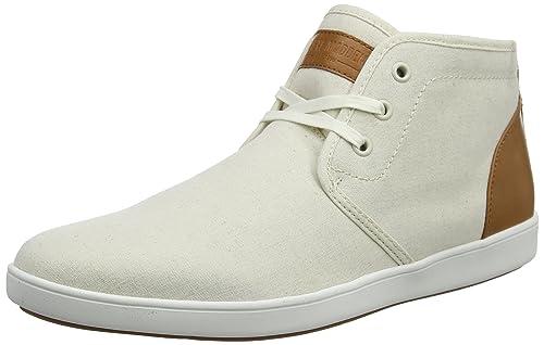 Steve Madden Ferrin, Sneaker a Collo Alto Uomo, Beige (Beige 01023), 44 EU