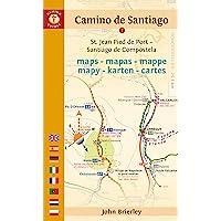 Camino de Santiago Maps: St. Jean Pied de Port - Santiago de Compostela