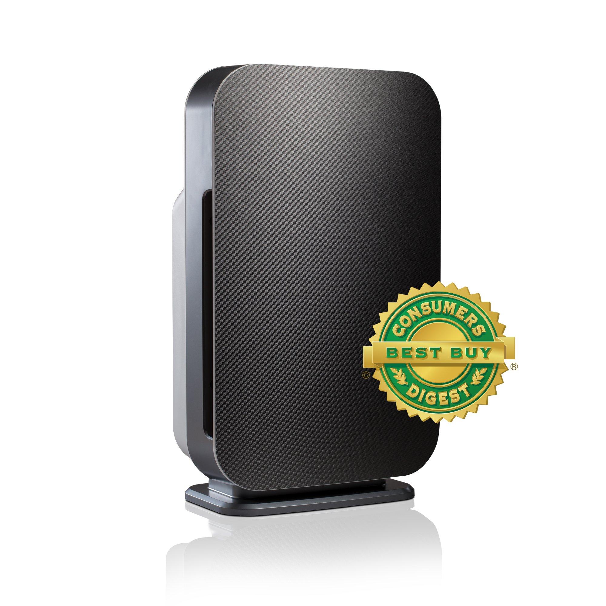 Alen FLEX Allergen-Reducing Air Purifier with Basic HEPA Filter, 700 SqFt; Carbon Fiber