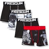 Freegun Bóxer para Niños - Freegun Animals Léopard (pack de 4)