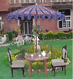 Indian Outdoor Large Garden Parasol Umbrella