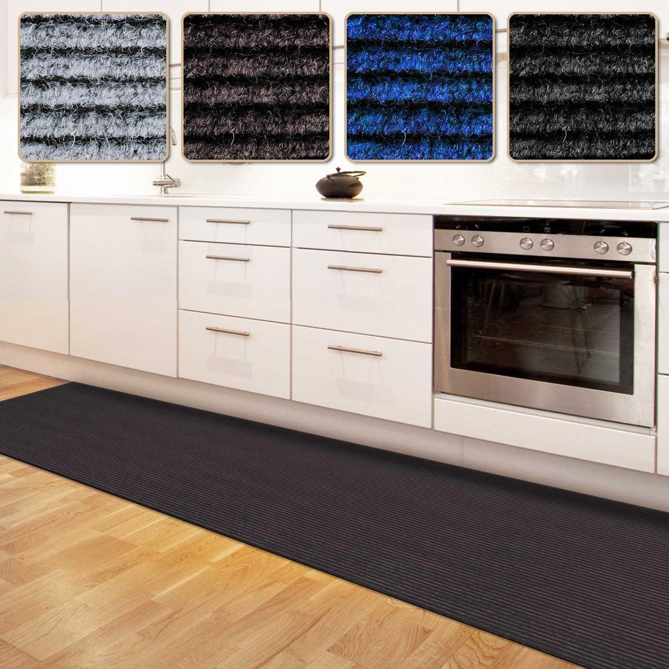 Floori Küchenläufer | strapazierfähiger Teppich Läufer für Küche ...