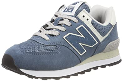| New Balance Womens Light Petrol Blue 574