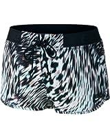 Women's Nike Azores Windblur Mini Shorts Light Aqua/Black 679928-466 (L)