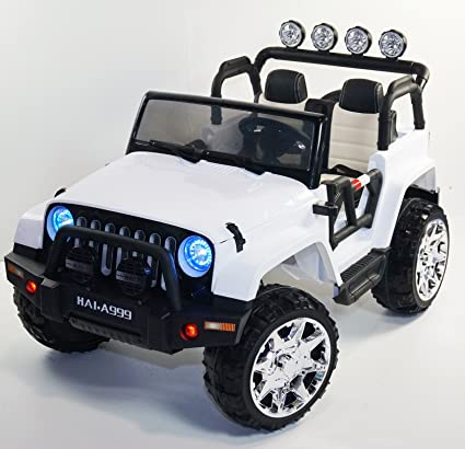 NEW JEEP WRANGLER Style THE BIGGEST POWERFUL Ride On Kids Electric Two Seats