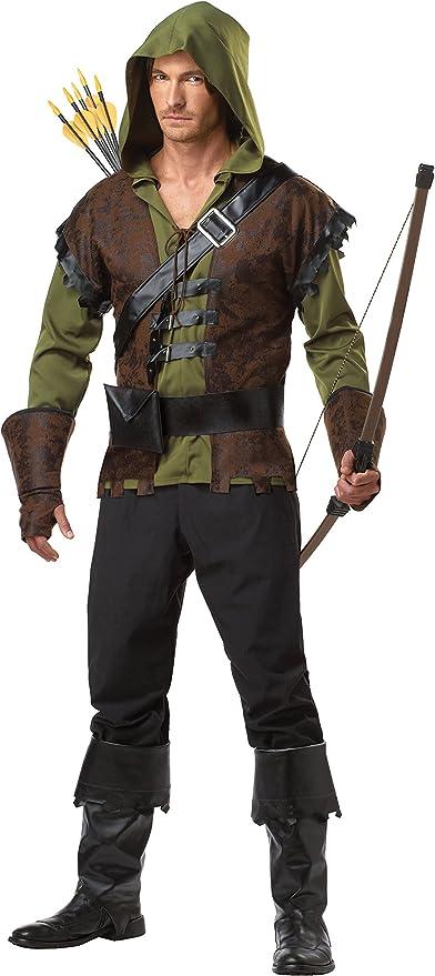 California Costume Disfraz Robin Hood – Talla XL: Amazon.es ...