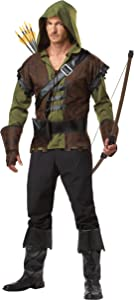 California Costumes Menu0027s Robin Hood Costume  sc 1 st  Amazon.com & Amazon.com: InCharacter Adult Huntress Costume - XS: Clothing