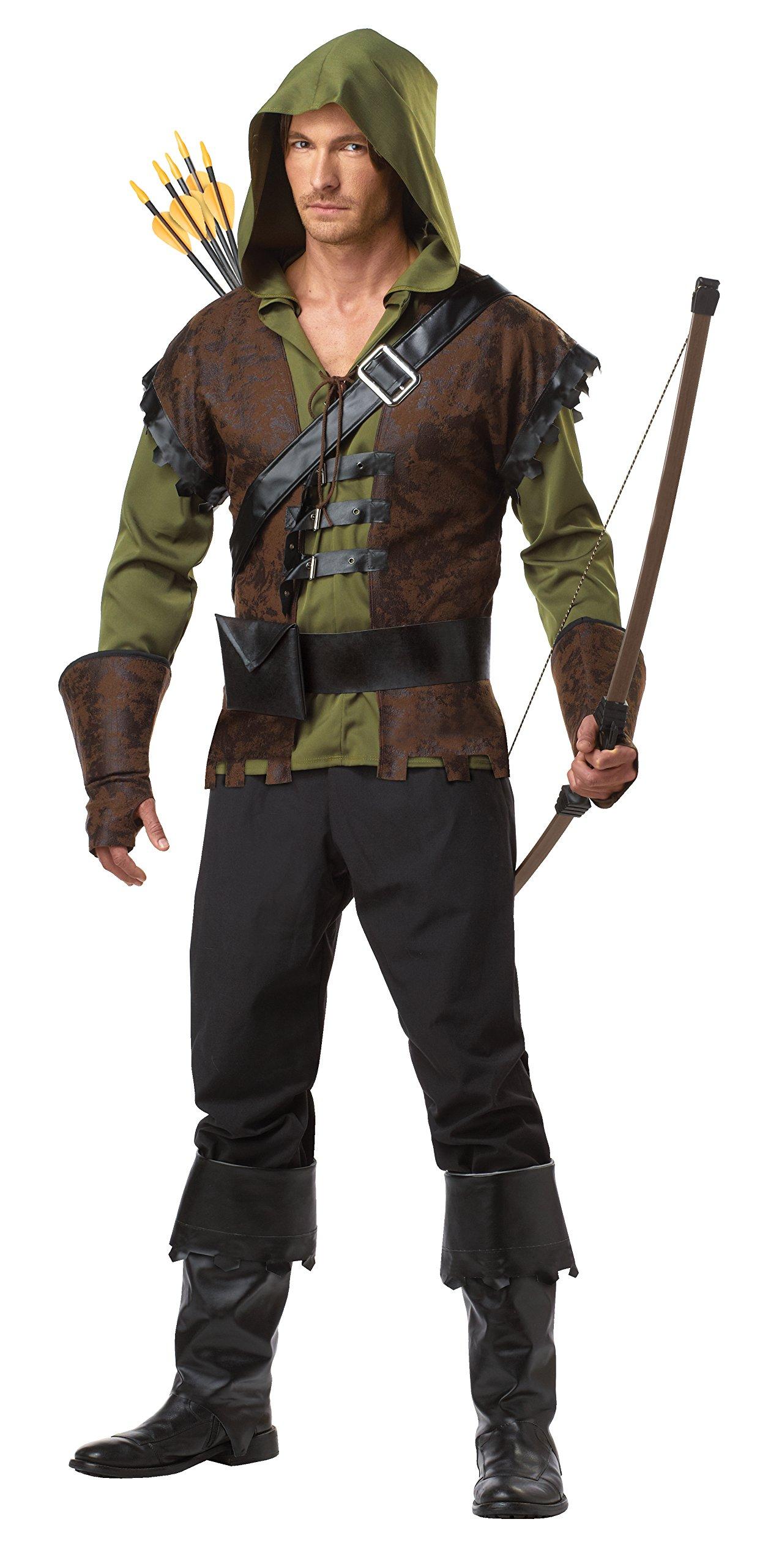 California Costumes Robin Hood Adult Costume, Olive/Brown, Medium by California Costumes