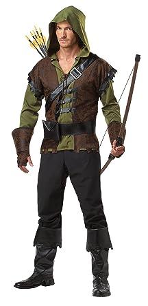 5266404f1b Amazon.com  California Costumes Men s Robin Hood Costume  Clothing