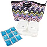 Steve Madden Luggage Insulated Lunch Tote Bag