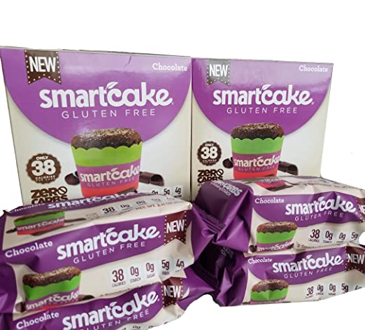 SMARTCAKE (8 pasteles): sin azúcar, sin gluten, bajo en ...