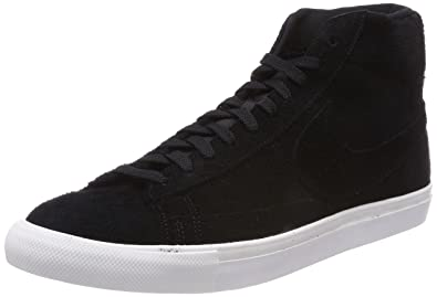 NIKE Blazer Mid Casual Lifestyle Shoes Mens Black/White New 371761-033 - 7