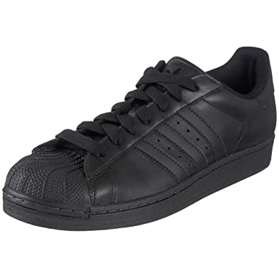 adidas black leather shoes