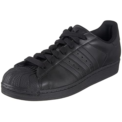 low priced db11f ec769 adidas Originals Men s Superstar ll Sneaker,Black Black Black,12 ...
