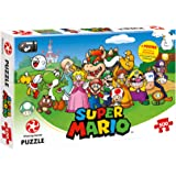 Winning Moves 29476 Puzzle Super Mario - Mario and Friends, 500 Pezzi