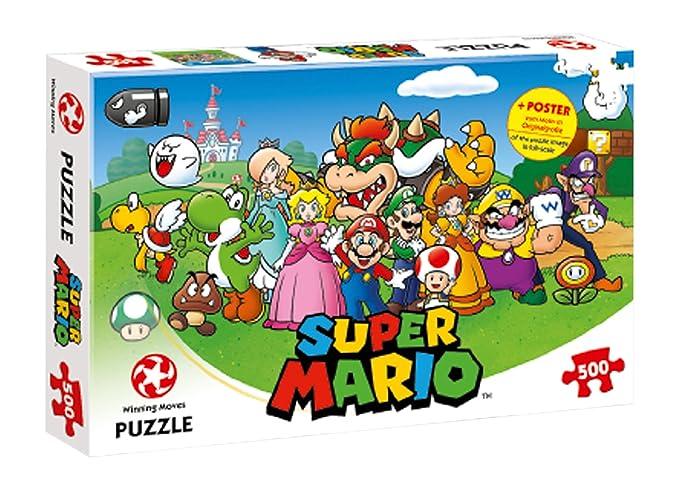 2 opinioni per Winning Moves 29476 Puzzle Super Mario- Mario and Friends, 500 Pezzi