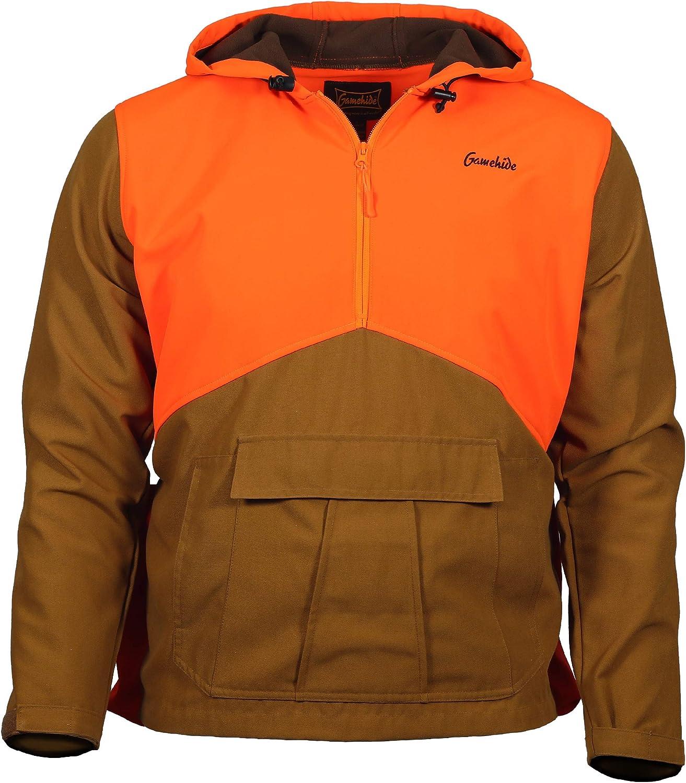 NEW Gamehide Upland Field Pheasant Vest Youth M YCV-M Marsh Brown//Orange