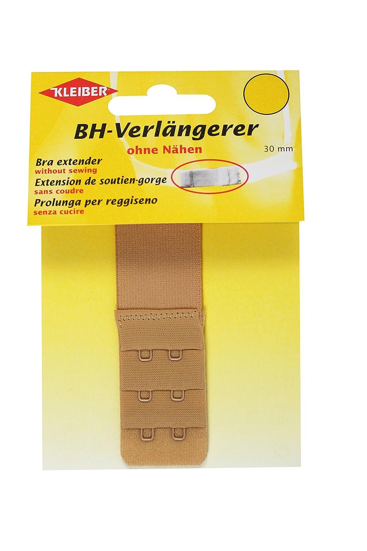 Kleiber - Estensore per reggiseno con gancio doppio 30 mm, bianco Kleiber & Co. 801-20
