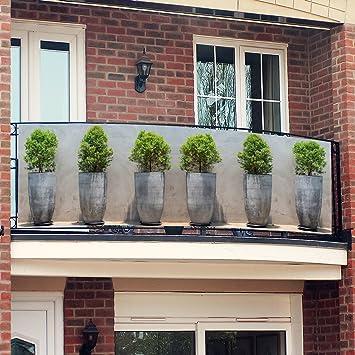 Amazon De Gartner Potschke Balkon Sichtschutz Pflanztopfe