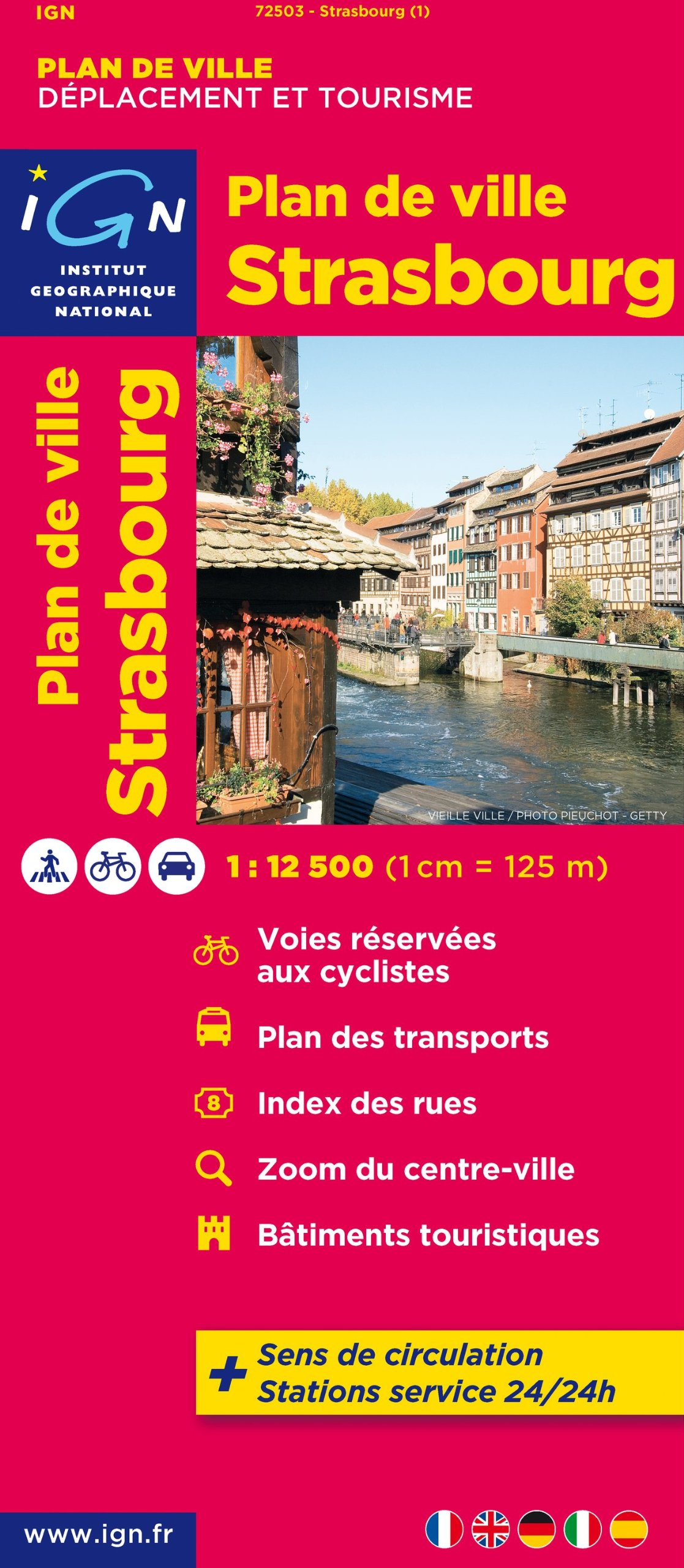 Strassbourg: IGN72503 (Ign Map)