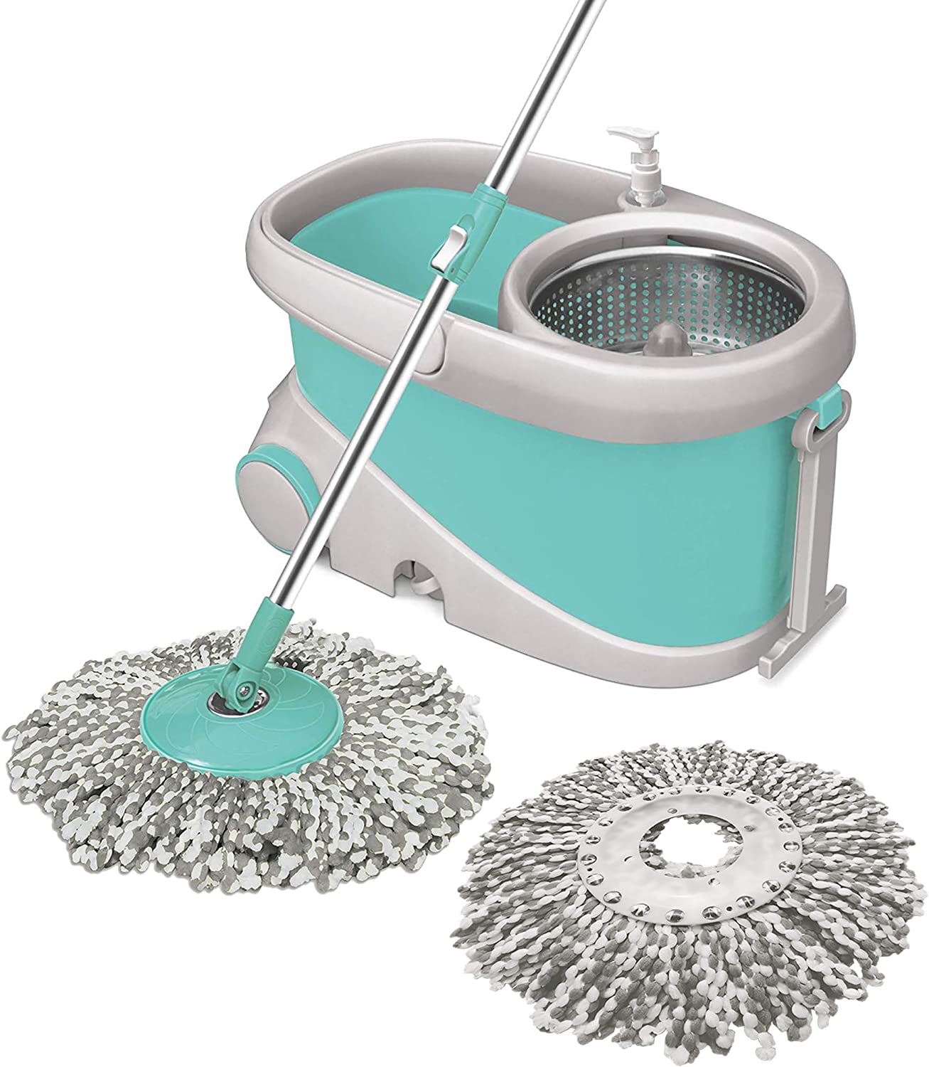 Spotzero by Milton Mop with Stainless Steel Wringer