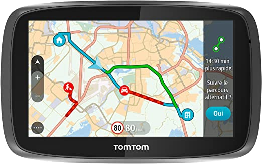 "3 opinioni per TomTom GO 5100 Fixed 5"" Touchscreen 229g Black,Silver navigator- navigators (All"