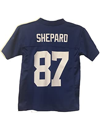 new styles 1128a f9c64 Sterling Shepard New York Giants NFL Toddler Blue Home Mid-Tier Jersey