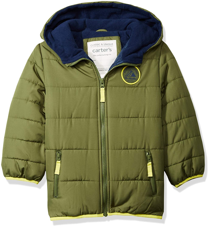 ef1ac5b1f Amazon.com  Carter s Boys  Adventure Bubble Jacket  Clothing