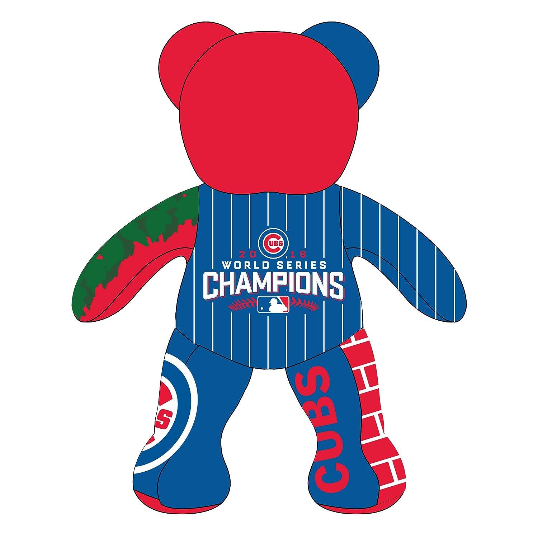 9054dd9e17c Amazon.com  FOCO MLB Chicago Cubs 2016 World Series Champions Thematic Bear  Sports Fan Home Decor