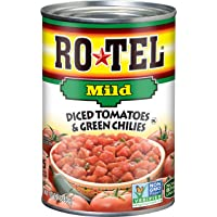 12-Pack Rotel Mild Diced Tomatoes and Green Chilies, 10 Ounce