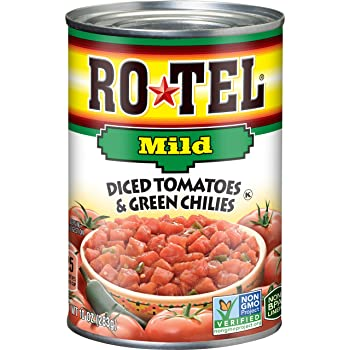 Ro-Tel Mild Diced 10-oz Canned Tomatoes