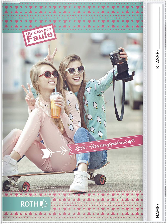 A5 ROTH 88220 Hausaufgabenheft Teens Selfie