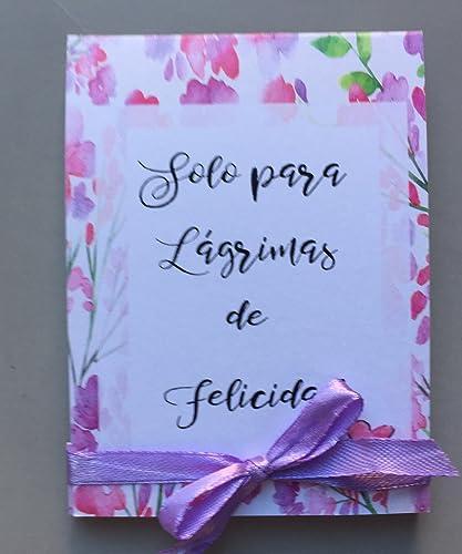 Pa/ñuelos para Bodas L/ágrimas de Felicidad para los que lloran en las Bodas