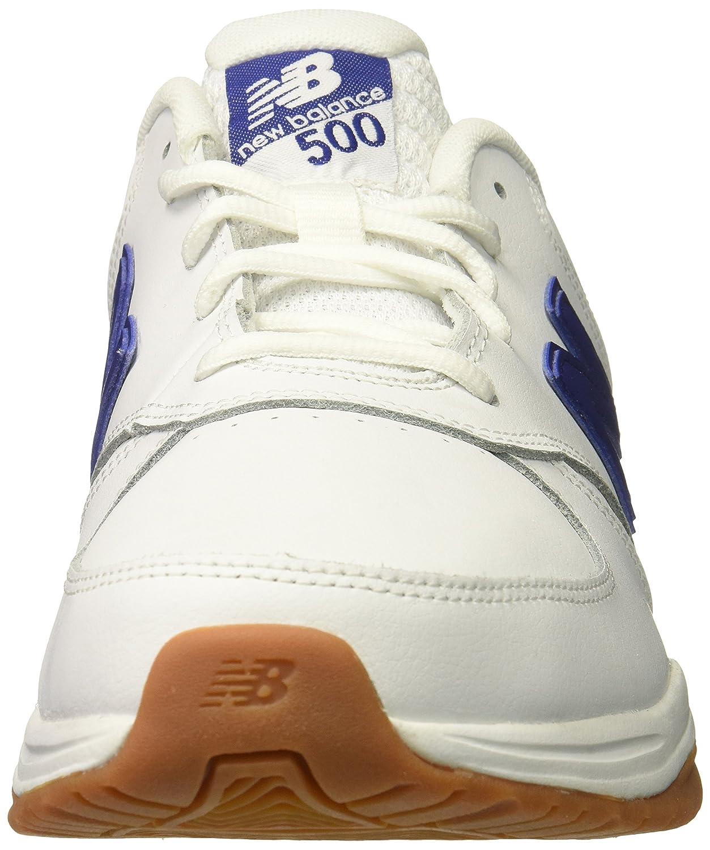 Zapato de entrenamiento de cuero 500V1 New Balance para hombre Blanco   real 58eefcf59e9e3