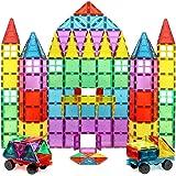 Magnet Build Magnet Tile Building Blocks Extra Strong Magnets & Super Durable 3D Tiles