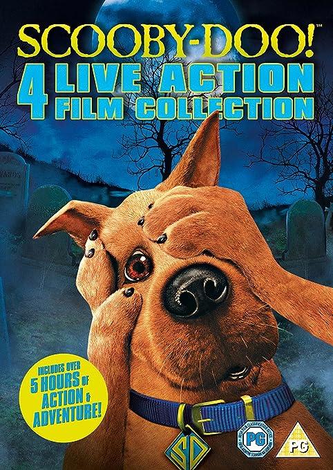 Amazon Com Scooby Doo Live Action Quadrilogy Dvd 2011 Movies Tv