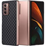 Arae Case for Samsung Galaxy Z fold 2 5G, Ultra Thin Fit Hard PC Phone Case for Samsung Galaxy Z fold 2 5G, 7.6 inch, Black