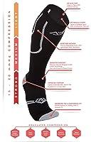 Premium Women's Compression Socks in a Chevron Print. 15-20 mmHg ON SALE NOW